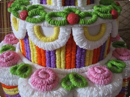 Торт на 8 марта. фото 3
