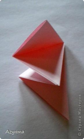 Предлагаю вашему вниманию МК бабочки-оригами. Вроде, такой ещё  не было. Это бабочка хороша тем, что очень быстро и просто складывается, под силу даже детям. фото 4