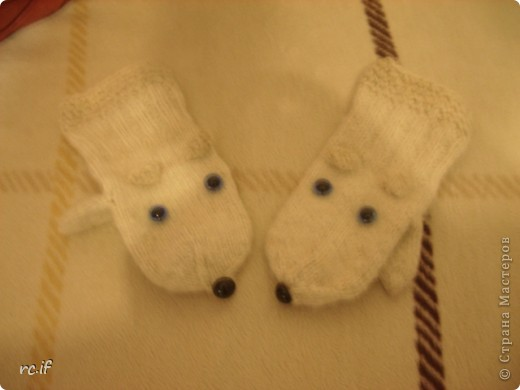 Варежки собачки-мышки :))) фото 1