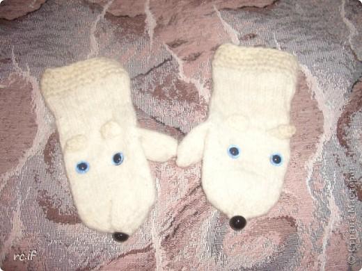 Варежки собачки-мышки :))) фото 2
