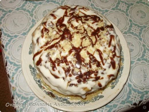 Мой медовый тортик, ну оочень вкусный по маминому рецепту