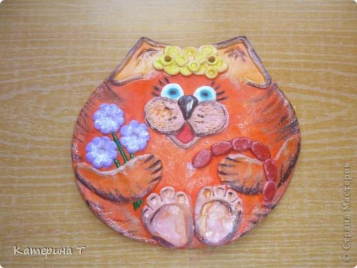 Улыбка, цветы и сосиски в подарок от киски фото 1