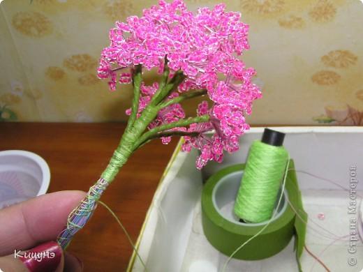 Розовая сирень и по ней же мастер-класс фото 13