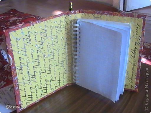 На кануне праздника решила маме сделать именной подарок,блокнот. При том,что она любитель блокнотов. Теперь её коллекция пополнилась эксклюзивом. фото 4