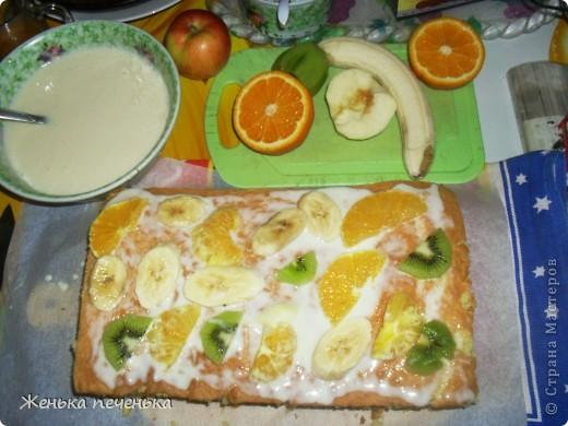 Вот такой тортик испекли мы с дочей для племянницы на День Варенья фото 2