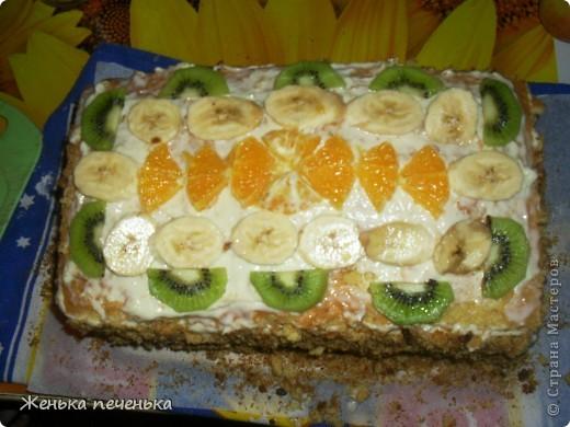 Вот такой тортик испекли мы с дочей для племянницы на День Варенья фото 1