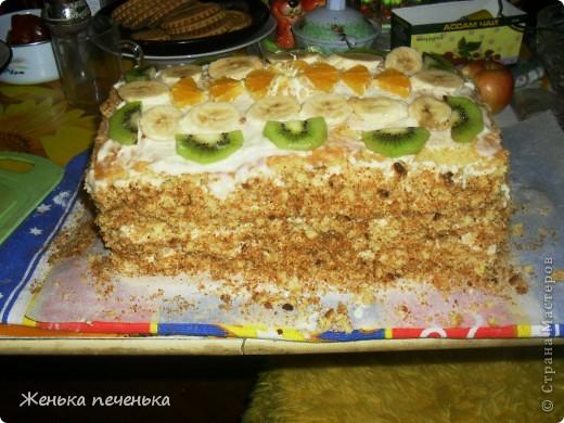 Вот такой тортик испекли мы с дочей для племянницы на День Варенья фото 3