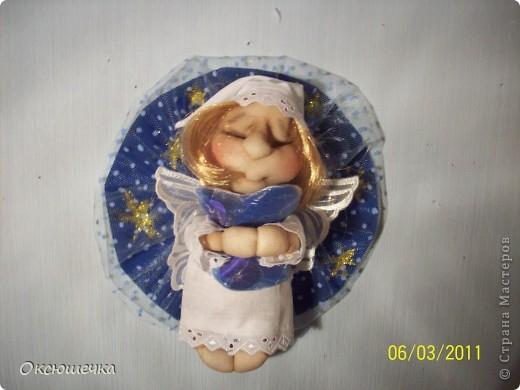 Вот и у меня появился ангелочек,спасибо Ликме! фото 1