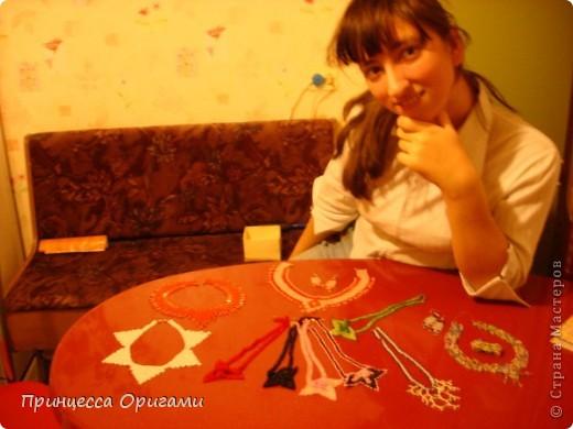 принцесса оригами раньше была княгиней бисера =) фото 1