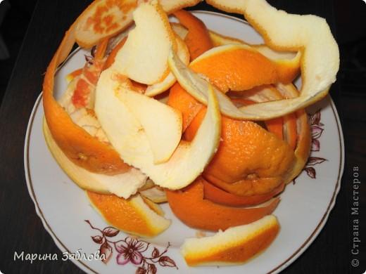 Уже давно наша семья делает фанту из апельсинов , вернее из шкурок от апельсинов.Получается необычный напиток. фото 2