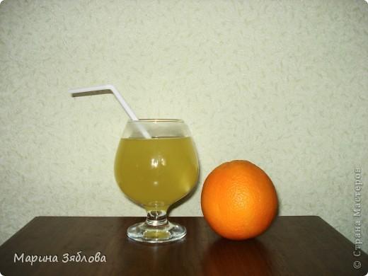 Уже давно наша семья делает фанту из апельсинов , вернее из шкурок от апельсинов.Получается необычный напиток. фото 1