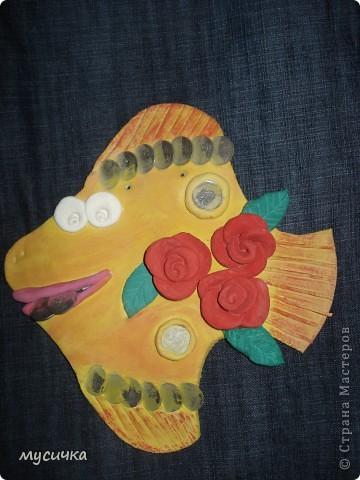 Моя денежная рыбка в подарок маме. фото 2