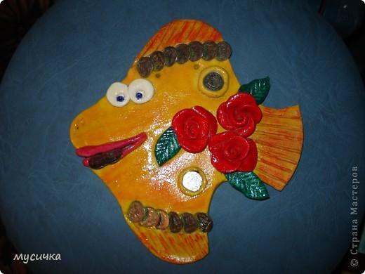 Моя денежная рыбка в подарок маме. фото 1