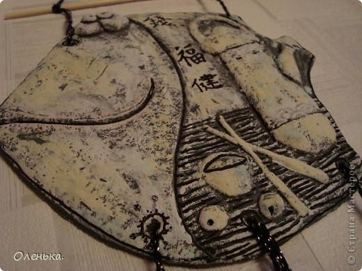 Не успокоюсь, пока не сделаю всех рыбок, которые мне понравились... Иероглифы на рыбе - деньги, счастье, здоровье. фото 2