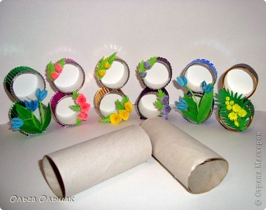 Ну вот,последние подарочки к 8 марта готовы.На этот раз сувенирчики-восьмёрочки для подружек Кати и Насти. фото 5