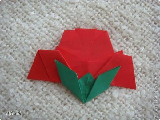 Вот такие розы будем делать завтра на кружке. Я их пока не прикрепила к конверту. фото 20