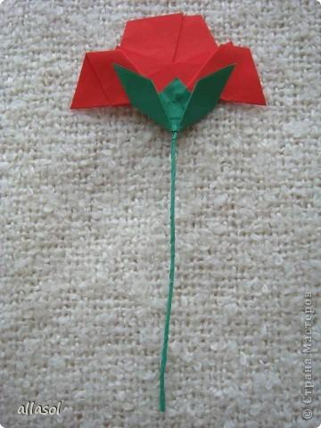 Вот такие розы будем делать завтра на кружке. Я их пока не прикрепила к конверту. фото 26