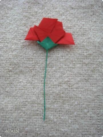 Вот такие розы будем делать завтра на кружке. Я их пока не прикрепила к конверту. фото 27