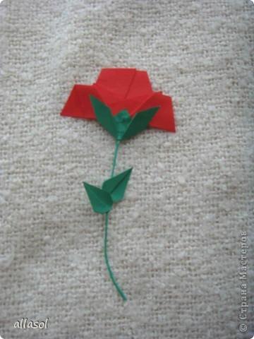 Вот такие розы будем делать завтра на кружке. Я их пока не прикрепила к конверту. фото 28