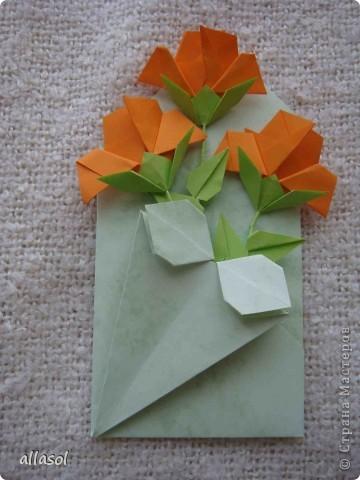 Вот такие розы будем делать завтра на кружке. Я их пока не прикрепила к конверту. фото 29