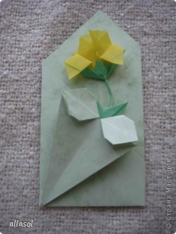 Вот такие розы будем делать завтра на кружке. Я их пока не прикрепила к конверту. фото 34