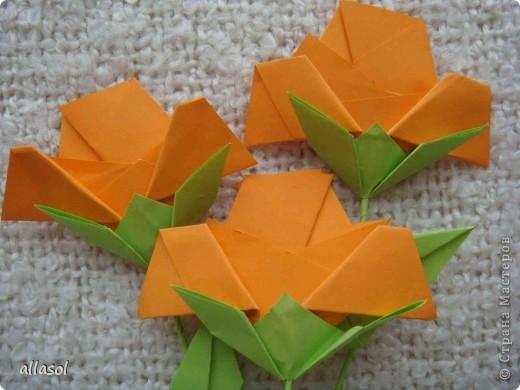 Вот такие розы будем делать завтра на кружке. Я их пока не прикрепила к конверту. фото 2