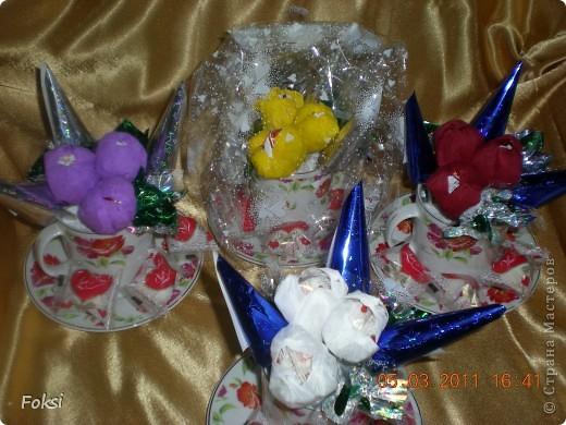 Готовясь к празднику сделала вот такие подарочки для воспитателей доченьки которые еще и мои коллеги. фото 4