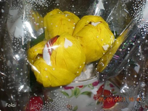 Готовясь к празднику сделала вот такие подарочки для воспитателей доченьки которые еще и мои коллеги. фото 5