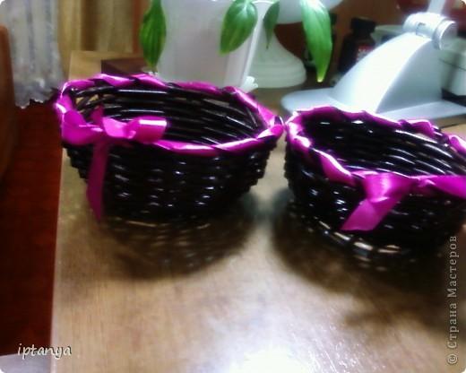 Плетеные конфетницы фото 1