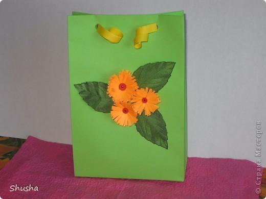 Подарочный пакетик фото 1