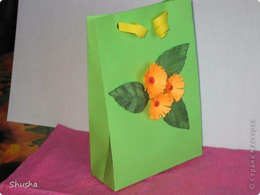 Подарочный пакетик фото 3