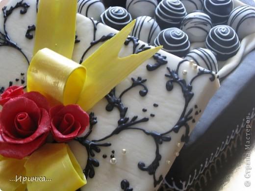 "торт ""Коробка конфет"" фото 2"