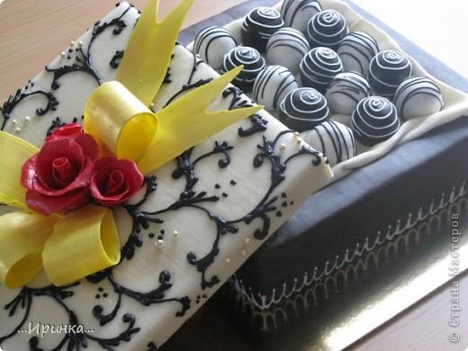 "торт ""Коробка конфет"" фото 1"