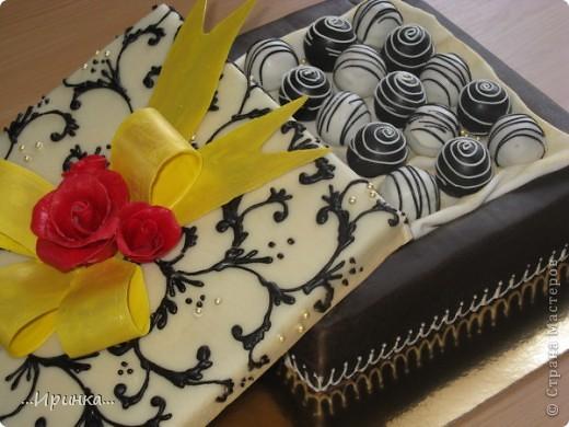 "торт ""Коробка конфет"" фото 3"