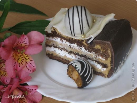 "торт ""Коробка конфет"" фото 4"