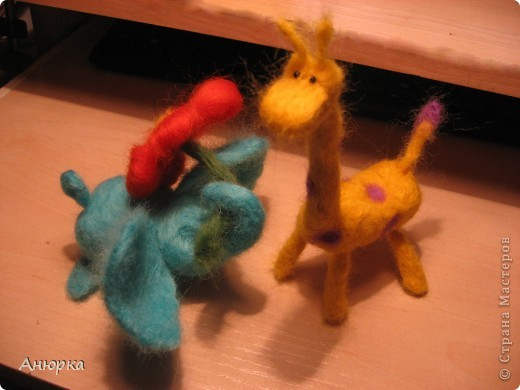 Слон и жираф и лев фото 2