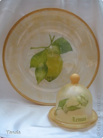 Сделала своей подруге (обожающей лимоны) такой вот подарок на 8 марта. фото 2