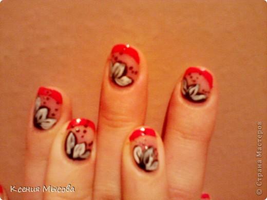 Маникюр и дизайн на коротких ногтях... фото 1
