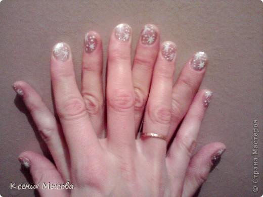 Маникюр и дизайн на коротких ногтях... фото 4