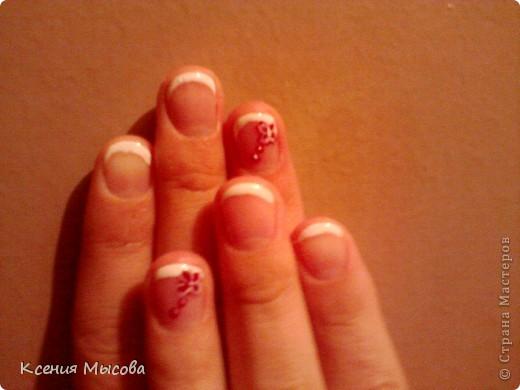 Маникюр и дизайн на коротких ногтях... фото 5