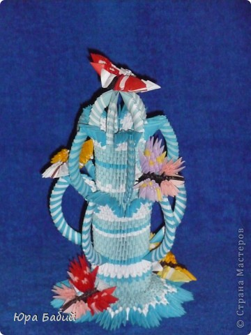 Волшебный фонтан с бабочками фото 1