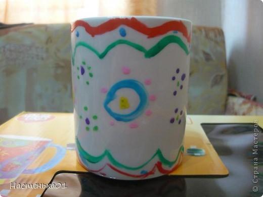 Мне с братом подарили такой набор. В нем были две белые кружки , краски и кисти. фото 7