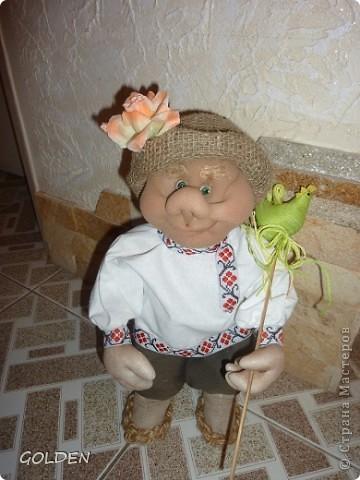 Привет! Я Петрович - Домовой! Ростика небольшого - 35 см, но очень домовитый, хозяйственный и аккуратный. Уезжаю на курорт жить - в Одессу! Ждут меня к 8 марта новые хозяева. Уж я их не подведу! фото 5
