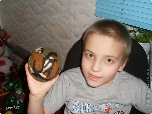 Вот солдатский мяч я с ним! фото 1