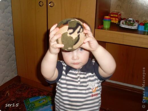 Вот солдатский мяч я с ним! фото 2