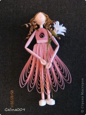 Можно использовать как елочные украшения. А если сзади у куколок сделать крылышки, получатся ангелочки. фото 5