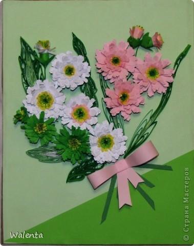 Дарю вам  осенние хризантемы к весеннему празднику. фото 1