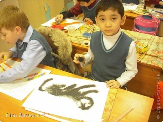 На уроке ИЗО детки рисовали с Татьяной Александровной таких чудесных котов. фото 6