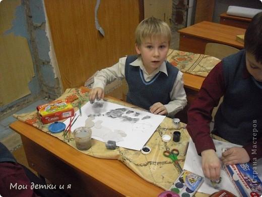 На уроке ИЗО детки рисовали с Татьяной Александровной таких чудесных котов. фото 7