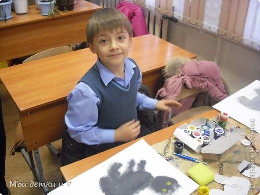 На уроке ИЗО детки рисовали с Татьяной Александровной таких чудесных котов. фото 8